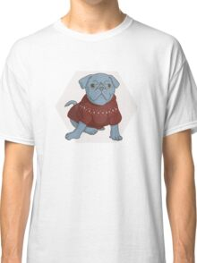 Pug the Best Friend Classic T-Shirt