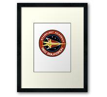 StarTrek - Red Squadron Framed Print
