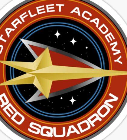 StarTrek - Red Squadron Sticker