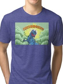 Cheese Burgers!? Tri-blend T-Shirt