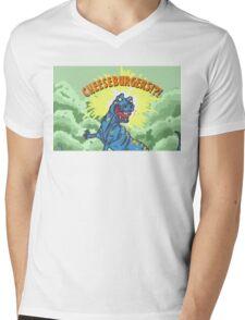 Cheese Burgers!? Mens V-Neck T-Shirt