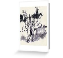 Wizard & the Lil' People Greeting Card