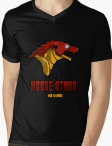 House Stark Mens V-Neck T-Shirt