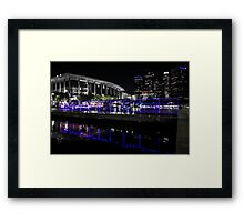 """""""That City Blue That You Once Knew"""" Framed Print"""