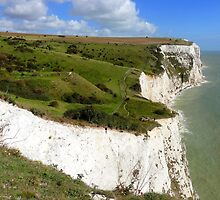 """UK: """"White Cliffs of Dover 4"""", Kent by Kelly Sutherland"""