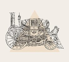 Steam punk carriage by grop