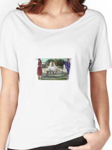 Fontaine De La Champagne Women's Relaxed Fit T-Shirt