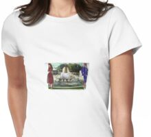 Fontaine De La Champagne Womens Fitted T-Shirt