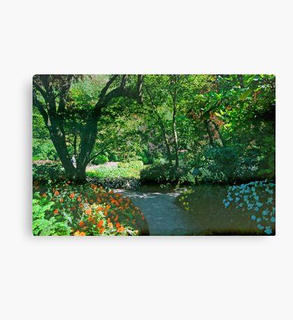 Butchart Gardens 8, 1993 Canvas Print