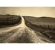 The Long Road Home Photographic Print