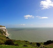 "UK: ""White Cliffs of Dover 6"", Kent by Kelly Sutherland"