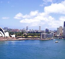 Sydney Harbour by GeorgeOne