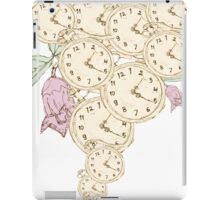 Time Is The Most Valuable Thing A Man Can Spend iPad Case/Skin
