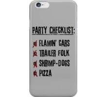 Daryl's Birthday Party [Bad Lip Reading] iPhone Case/Skin