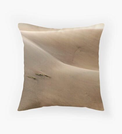 Dune Sculpture Throw Pillow