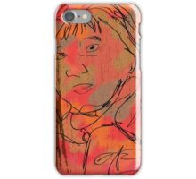 The Staring Woman iPhone Case/Skin