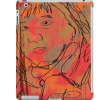 The Staring Woman iPad Case/Skin