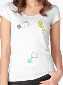 Lick, Sip, Suck Women's Fitted Scoop T-Shirt
