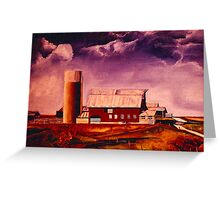 Family Heritage - Illinois Greeting Card