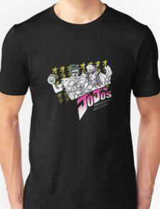 Jojo's bodybuilding adventures WHITE T-Shirt