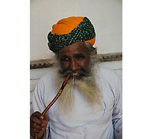 India, opiam smoker Photographic Print
