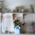 On My Mantle Piece by Lozzar Flowers & Art