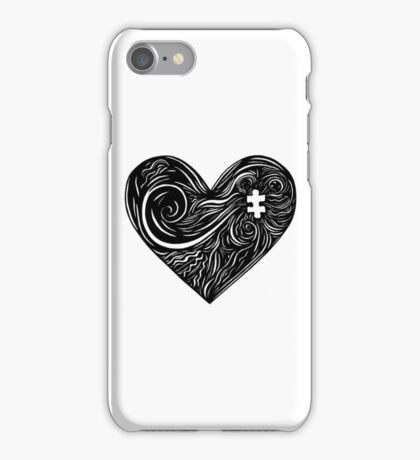 Linear Life - The Searching Heart iPhone Case/Skin