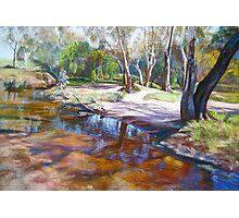 Creek Crossing, Avenel Photographic Print