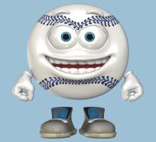 Baseball Buddy Smiles by Beannie