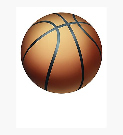Basketball 1 Photographic Print