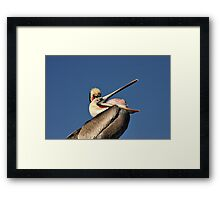 Betcha Can't Do This! Framed Print