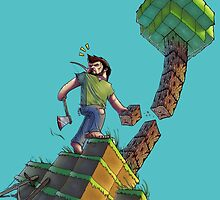 Minecraft Animation Tree Cutter by EleventyHundred
