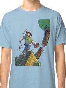 Minecraft Animation Tree Cutter Classic T-Shirt