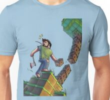 Minecraft Animation Tree Cutter Unisex T-Shirt