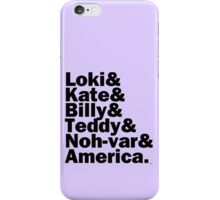 We are the NEW Young Avengers iPhone Case/Skin