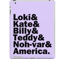 We are the NEW Young Avengers iPad Case/Skin