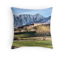 Canoa Golf Course View Throw Pillow