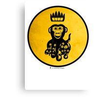King Octochimp Says Hi Canvas Print