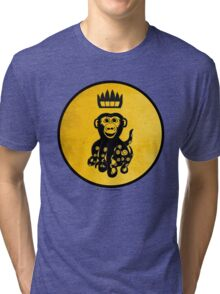 King Octochimp Says Hi Tri-blend T-Shirt