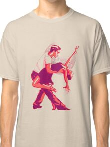 Strictly Salsa Couple Dancing With Glitter Ball Classic T-Shirt