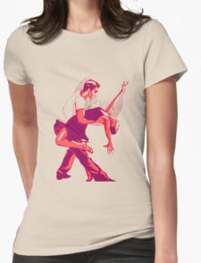 Strictly Salsa Couple Dancing With Glitter Ball T-Shirt