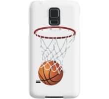 Basketball and Hoop Net Samsung Galaxy Case/Skin