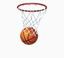 Basketball and Hoop Net Unisex T-Shirt