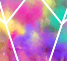 Colour fest diamond Sticker