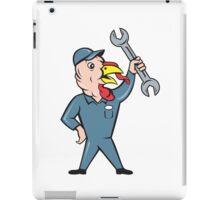 Turkey Mechanic Spanner Isolated Cartoon iPad Case/Skin