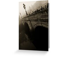 O'Connell Bridge Greeting Card