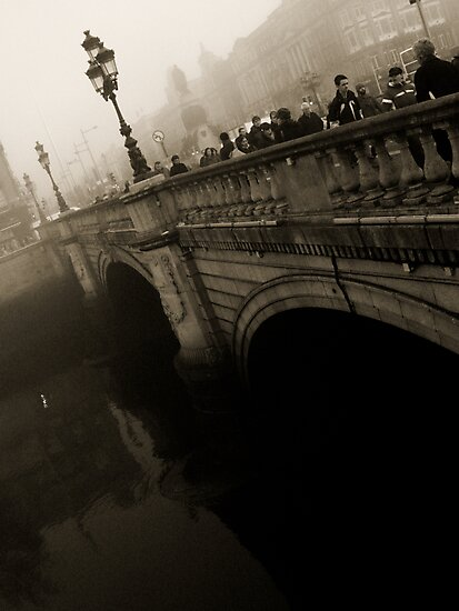 O'Connell Bridge by Lisa Michele Burns