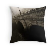 O'Connell Bridge Throw Pillow