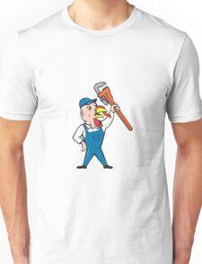 Turkey Plumber Monkey Wrench Cartoon Unisex T-Shirt