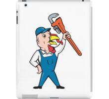 Turkey Plumber Monkey Wrench Cartoon iPad Case/Skin